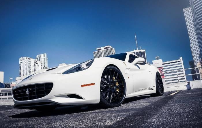 Ferrari, Феррари, белая, тачка, авто, auto, car