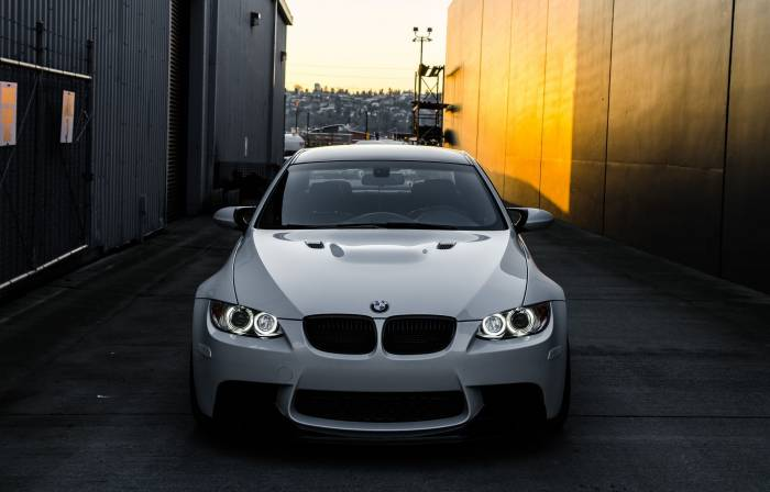 Авто, машина, BMW, m3, БМВ, white, e92, белый