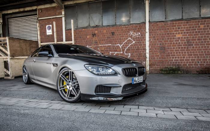 скачать обои BMW M6, manhart, mh6 700, БМВ, купе, карбон, тюнинг