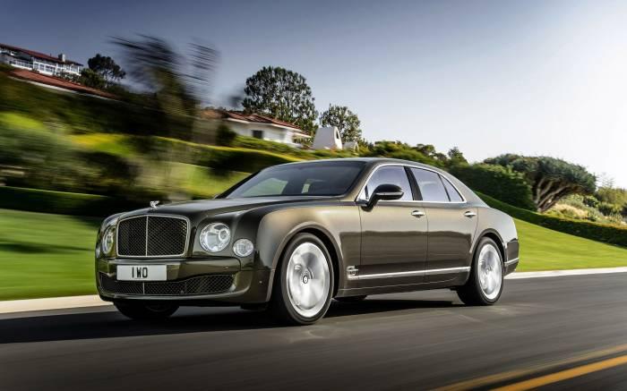 Bentley Mulsanne, Бентли Мульсан, седан, V8, авто