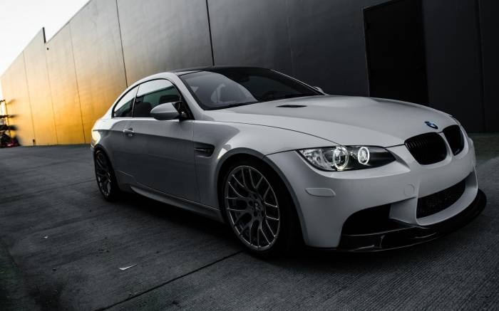 Автомобиль, БМВ, white, купе, M3, BMW, белый, car