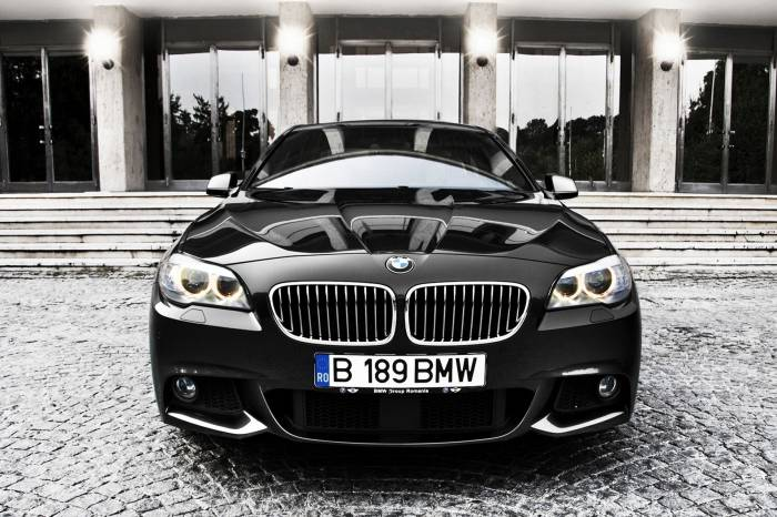 Авто, машина, BMW, БМВ, black, car, чёрный, auto