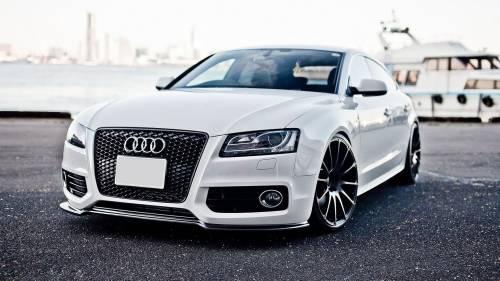 Белая Ауди РС6, white Audi RS6