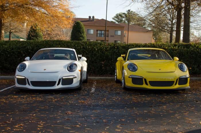 Porsche, 911, Порш, RS, автомобиль, авто, белый