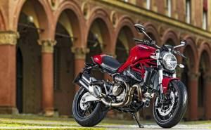 Ducati monster 821 дукати мотоцикл красный