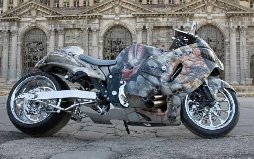 Спортбайк, тюнинг, мотоцикл