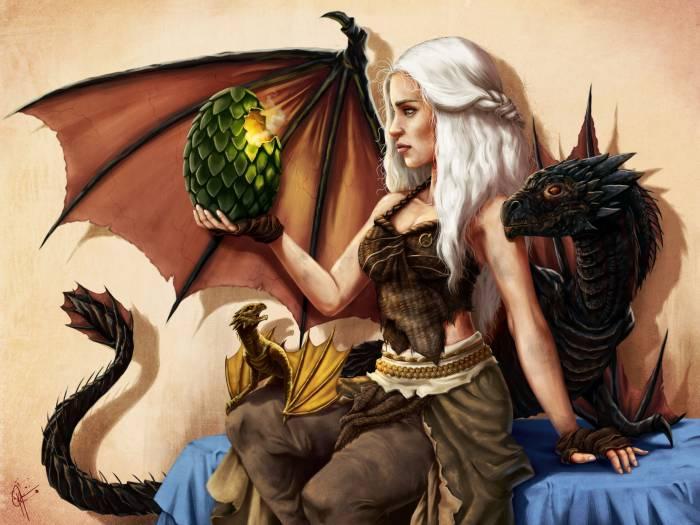 Дейенерис Таргариен, арт, Daenerys Targaryen
