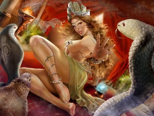 Заклинательница змей, Fantasy Girls, Фэнтези гёлс