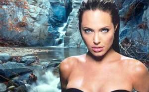 Angelina Jolie, Анжелина Джоли, вода