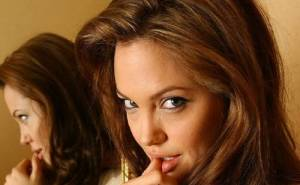 Angelina Jolie, Обои с Анжелиной Джоли, прическа,