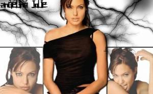Обои с Angelina Jolie, Анжелиной Джоли, девушка