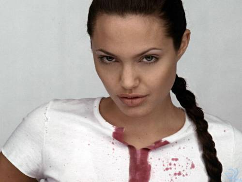 Angelina Jolie, Анжелина Джоли, футболка