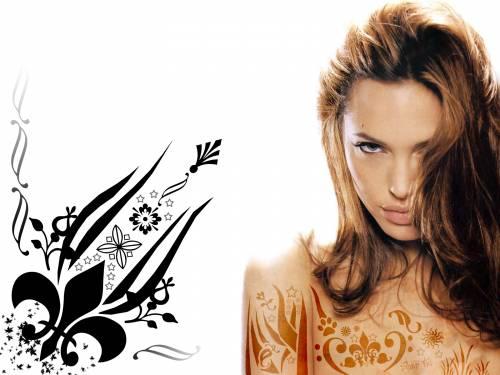 Angelina Jolie, Анжелиной Джоли, девушка♥♥♥, tatu