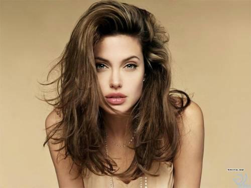 Angelina Jolie, Анжелина Джоли, бусики