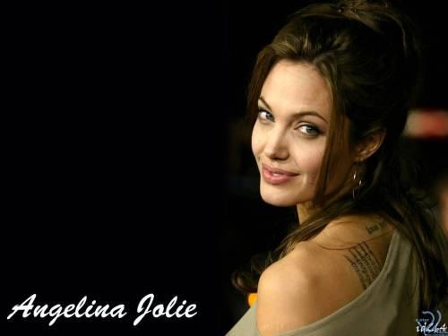 Анжелина Джоли, Angelina Jolie, глаза, причёска