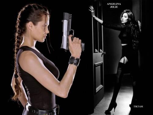 Angelina Jolie, Анжелиной Джоли, Tomb Rider