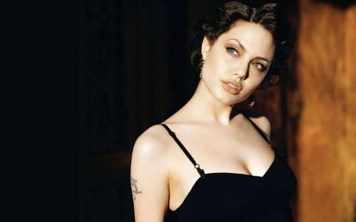 Анжелиной Джоли, Angelina Jolie, актриса, тату