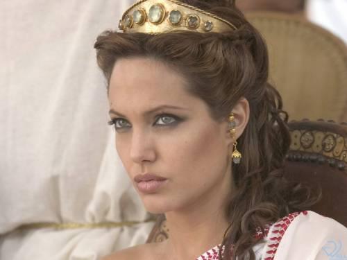 Обои с Angelina Jolie, Анжелиной Джоли, диадема