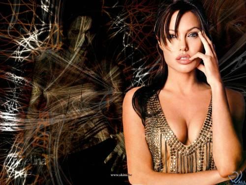 Angelina Jolie, Анжелиной Джоли, девушка, рука