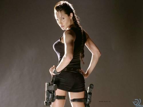 Angelina Jolie, Анжелина Джоли, Лара Крофт
