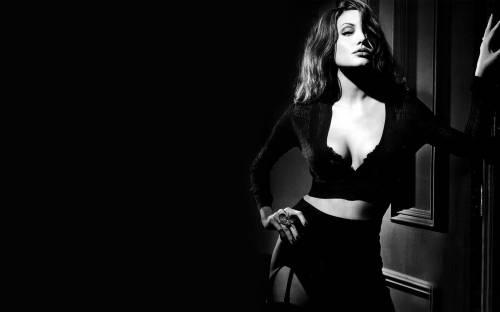 Девушка, Анжелиной Джоли, Angelina Jolie, чулки