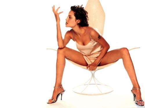 Angelina Jolie,  девушка, Анжелина Джоли, ножки