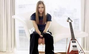 Avril Lavigne, oboi, фото Аврил Лавин, гитара
