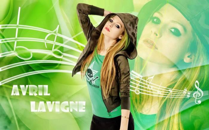 Аврил Лавин, Avril Lavigne, блондинка, певица