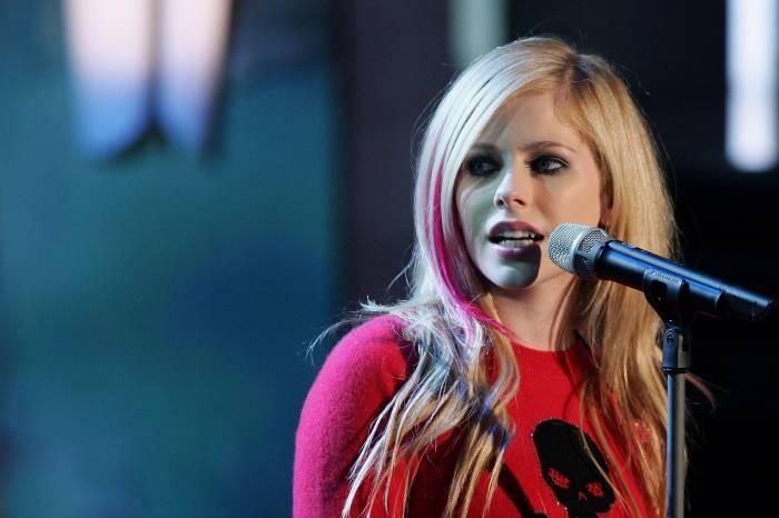 Певица, Avril Lavigne, Аврил Лавин, концерт, girl