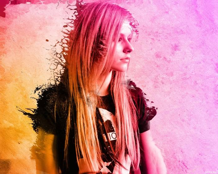 Девушка, певица, Avril Lavigne, Аврил Лавин