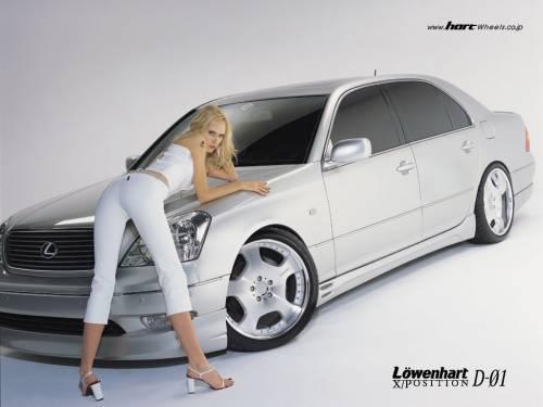 Блондинка, авто
