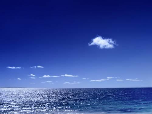 Море, небо
