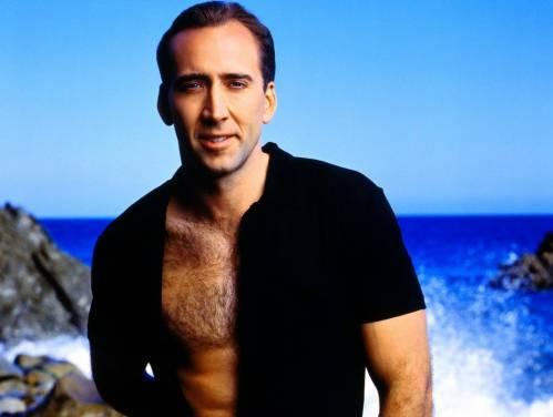 Nicolas Cage, Николас Кейдж, мужчина, голый торс