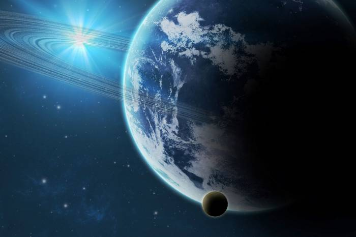 Планеты, звезды, кольца, космос, planet, star