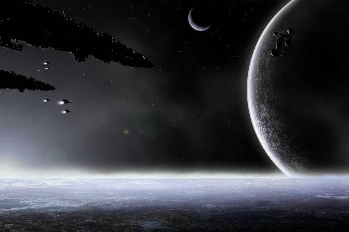 Корабли, планеты, space, космос, вселенная, planet