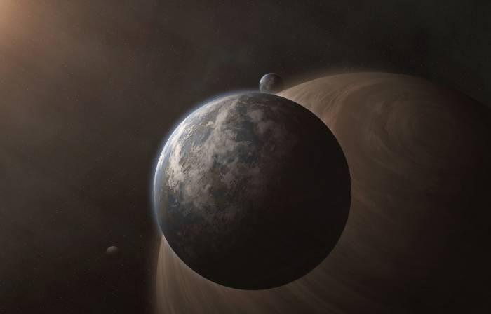 Звезды, планеты, спутник, космос, stars, planets