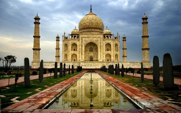 Тадж-Махал, Индия, город, Агра, Taj mahal, мечеть