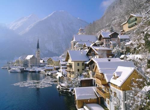 Гальштат, Хальштатт, Hallstatt, Austria, Австрия