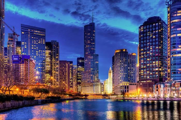 Chicago, USA, Illinois, США, Иллинойс, Чикаго