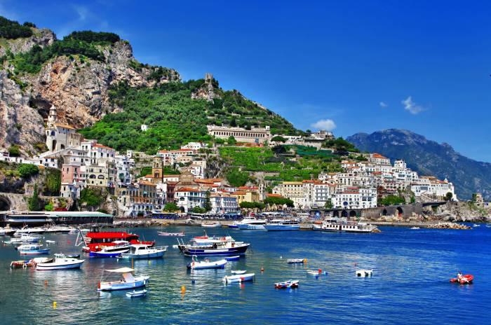 Italy, Амальфи, Позитано, Салерно, Италия, Amalfi
