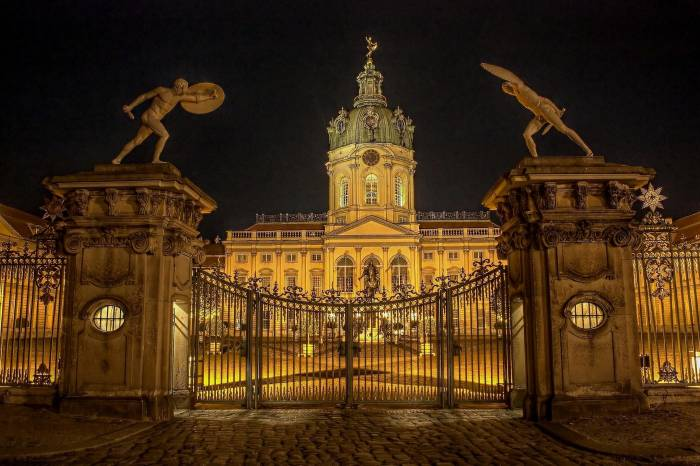 замок Шарлоттенбург, Берлин, Charlottenbur