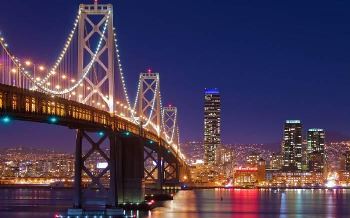 California, Сан-Франциско, San Francisco, мост