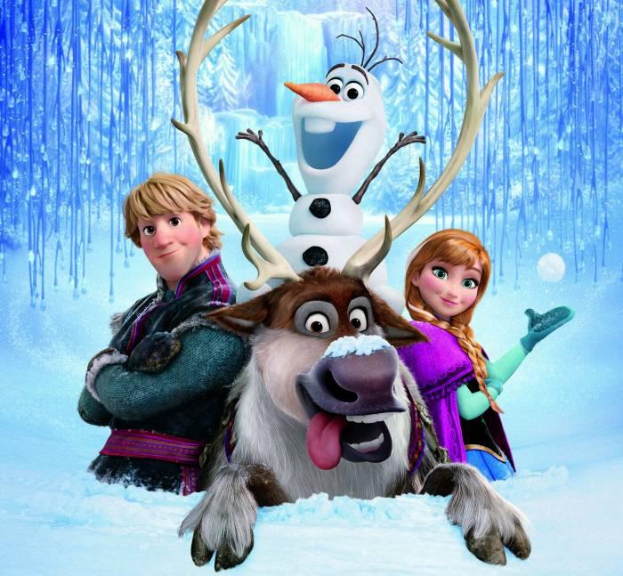 Холодное сердце, Kristoff, Sven, Anna, Frozen