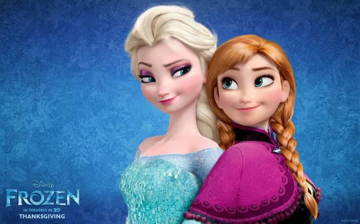 Frozen, Anna, Elsa, Холодное сердце, Анна, Эльза