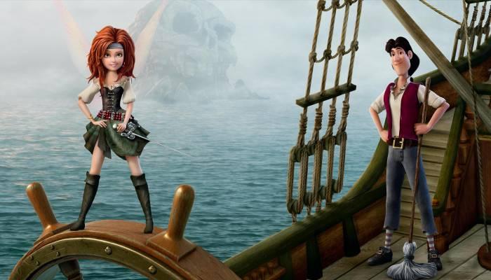 The Pirate Fairy, Феи, Загадка пиратского острова