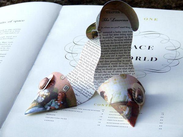 фото необычные изделия из бумаги