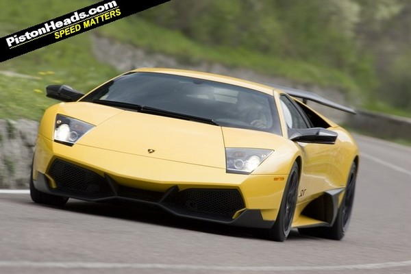 фото Lamborghini Murcielago LP670-4 SV
