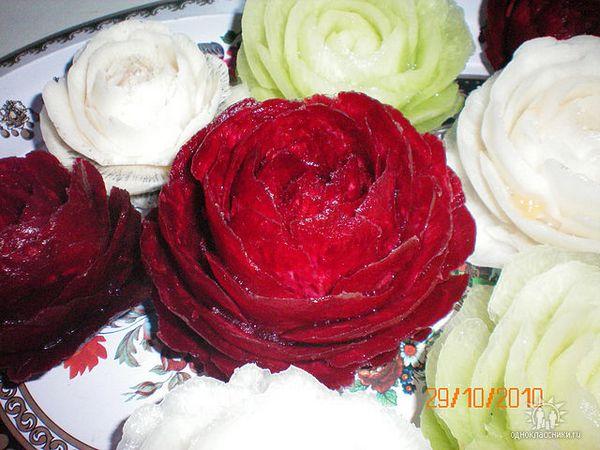 фото карвинг овощей